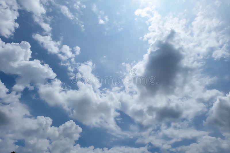 Mooie hemel stock fotografie