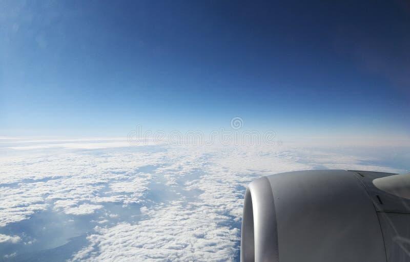 Mooie hemel en wolken stock foto