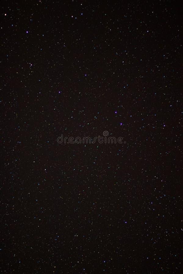 Mooie hemel Volledig - mening, sterren overal royalty-vrije stock fotografie