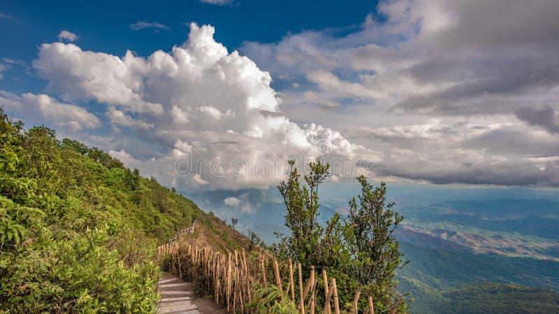 Mooie het Landschapsachtergrond van Mountain View stock afbeeldingen
