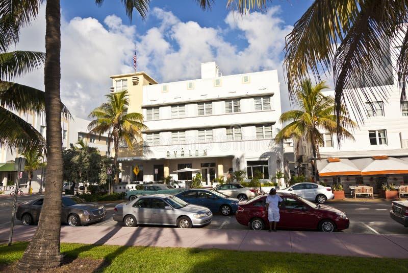 Art Deco Stijl : Mooie huizen in art deco stijl redactionele foto afbeelding