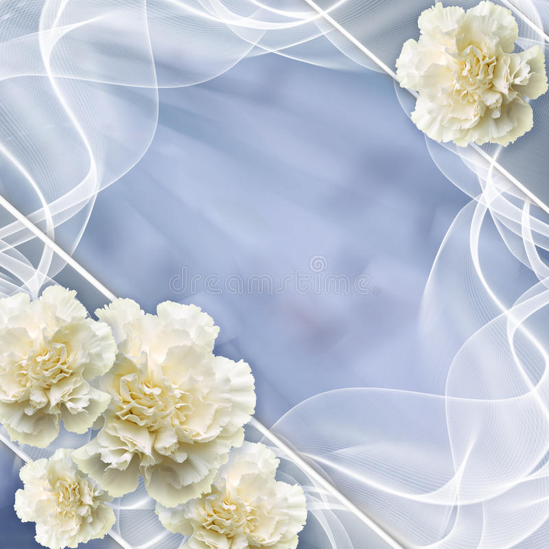 Mooie huwelijksachtergrond royalty-vrije stock fotografie