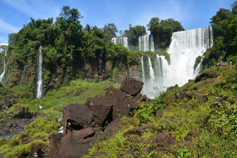 Mooie Iguazu-Dalingen van Argentinië Zuid-Amerika royalty-vrije stock afbeeldingen