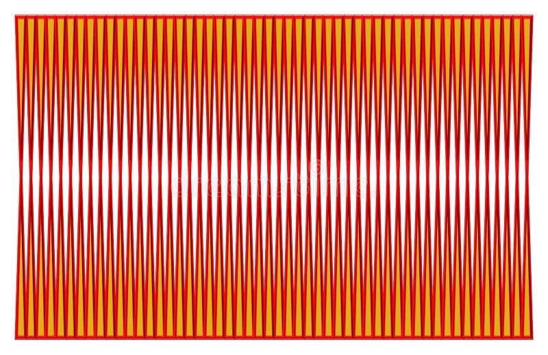 Mooie illustratie van een patroon vector illustratie