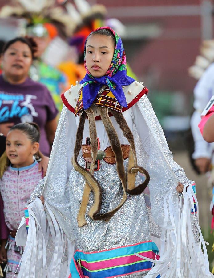 Mooie Inheemse Danser stock afbeeldingen