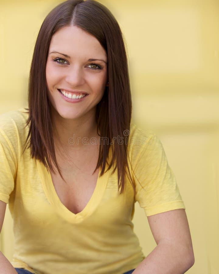 Mooie Jonge Gezonde Vrouw royalty-vrije stock foto
