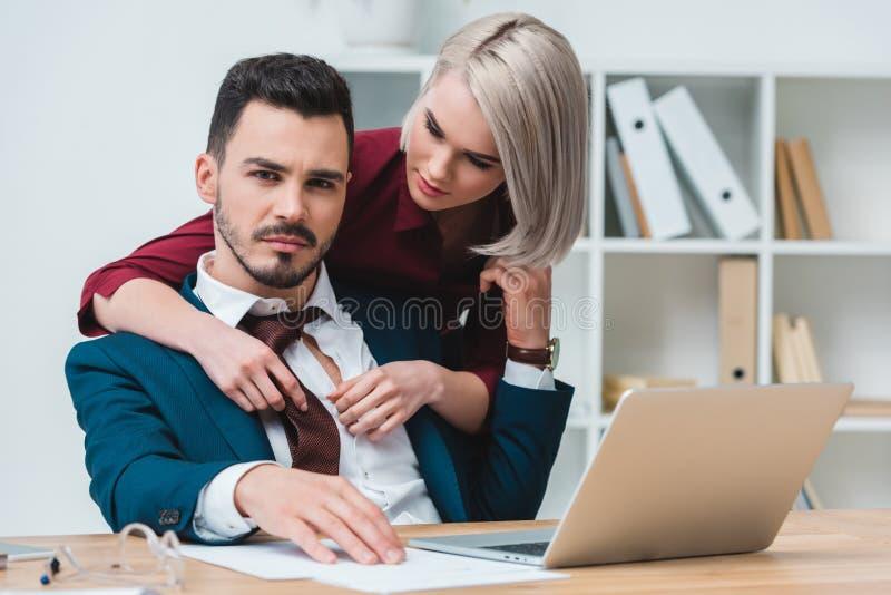 Flirten met manager