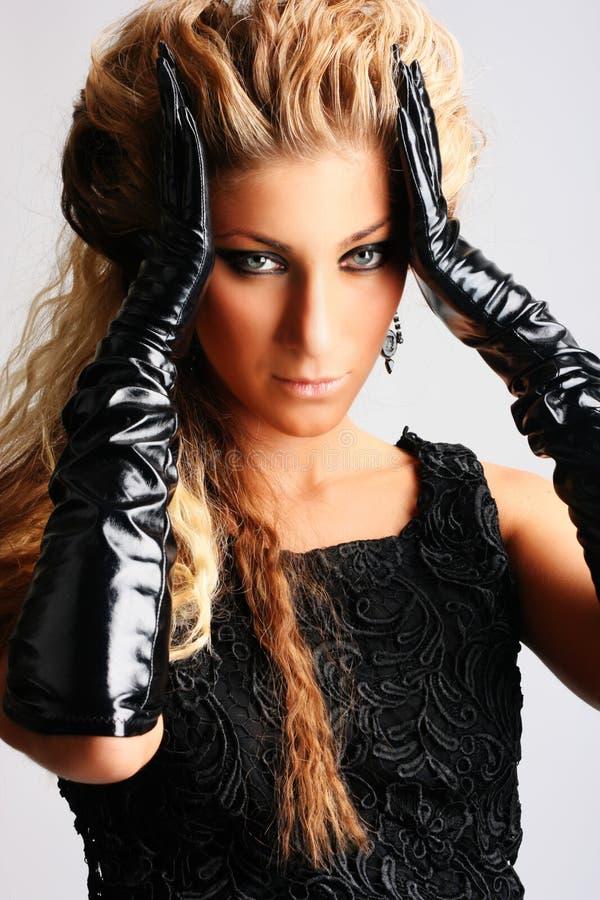 Mooie jonge sexy vrouw royalty-vrije stock fotografie
