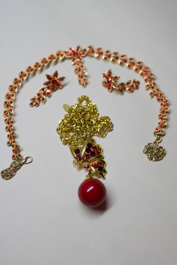 Mooie juwelen voor vrouwen royalty-vrije stock foto