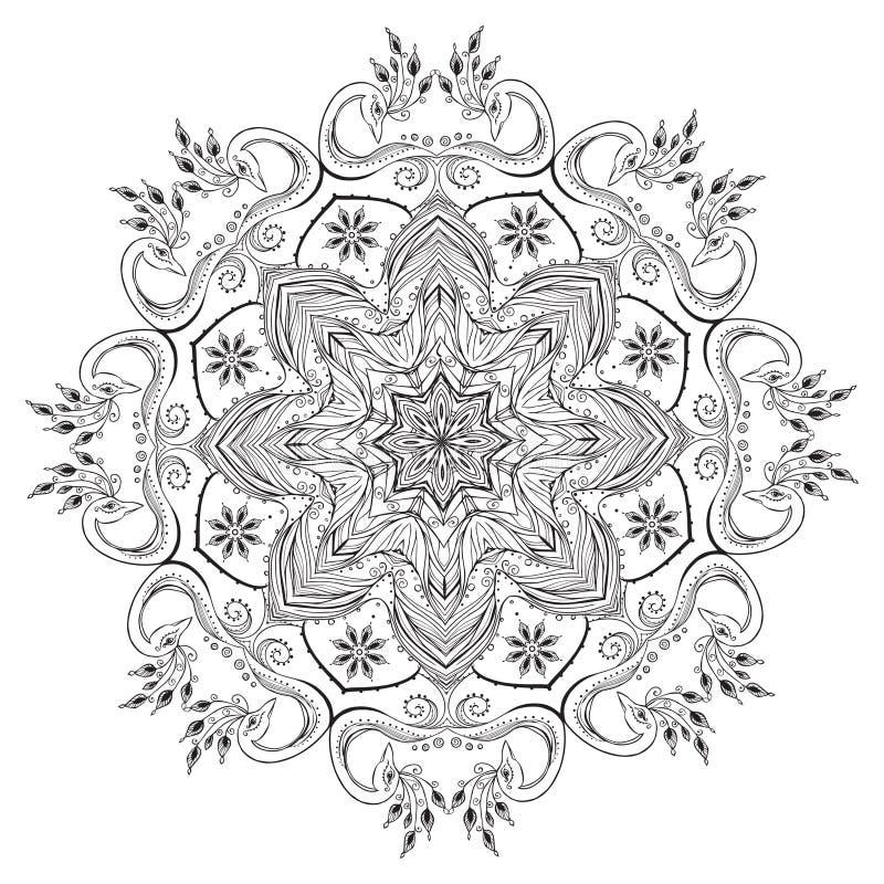 Mooie kaart royalty-vrije illustratie