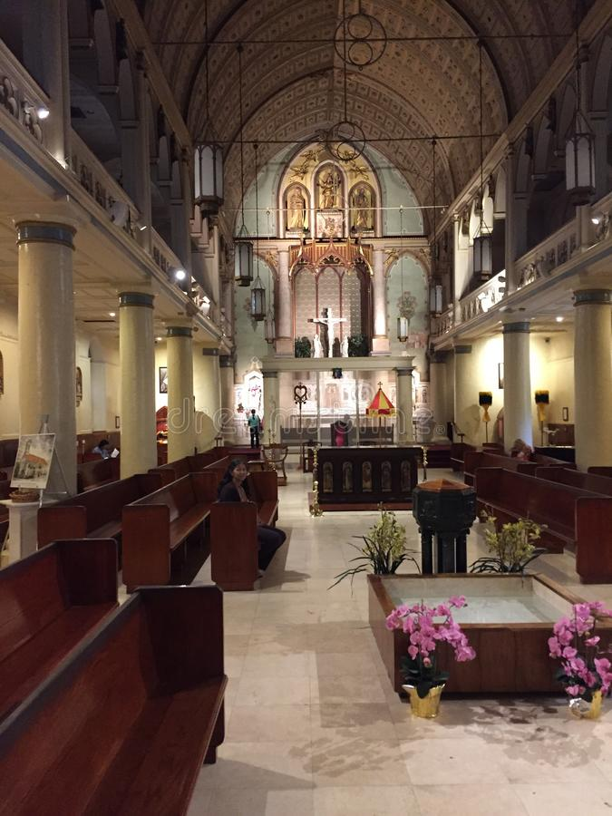 Mooie kerk stock afbeelding