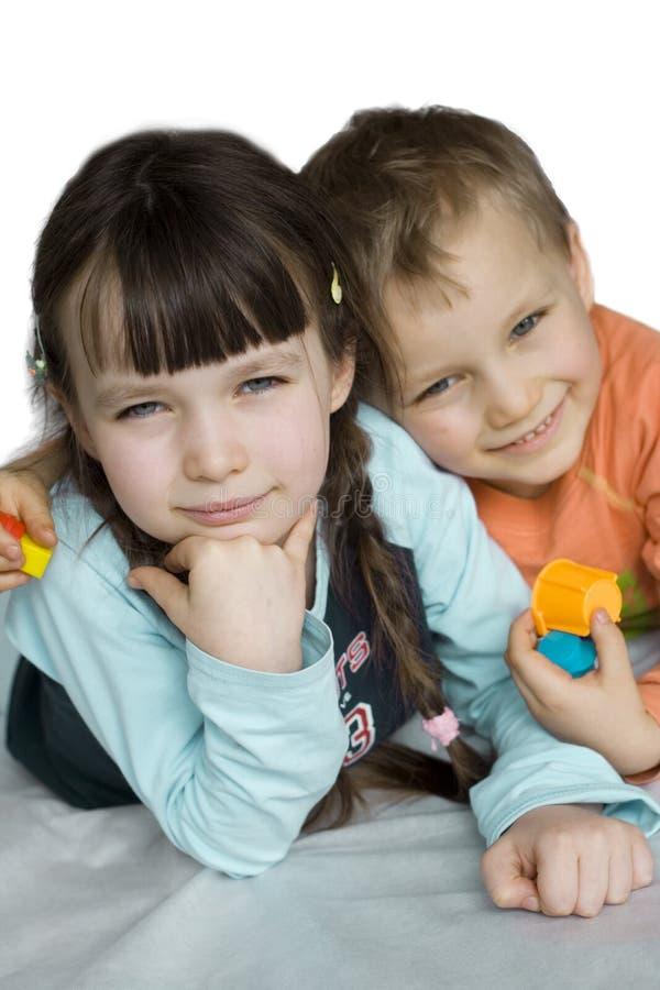 Mooie kinderen royalty-vrije stock foto's