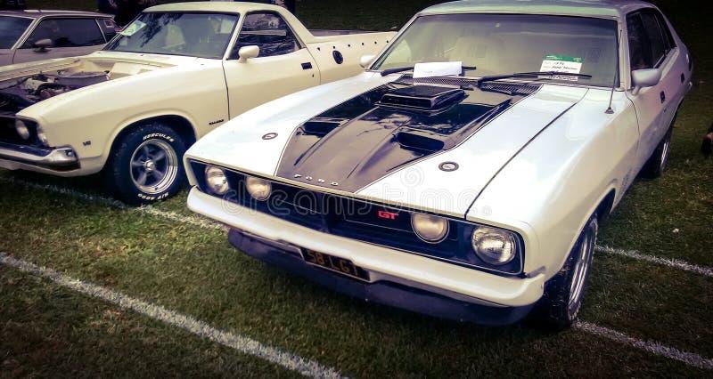 Mooie klassieke auto's stock fotografie