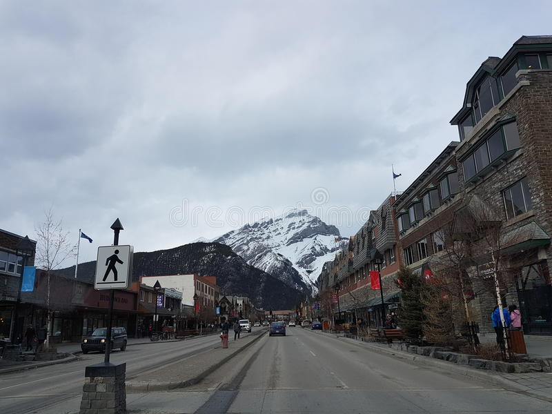 Mooie kleine stad royalty-vrije stock foto's
