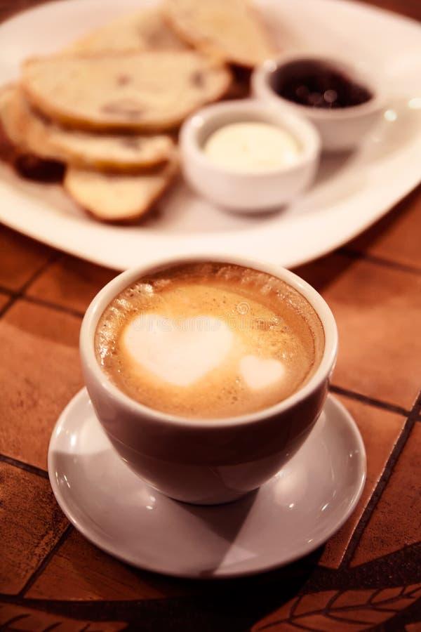 Mooie Koffie royalty-vrije stock afbeeldingen