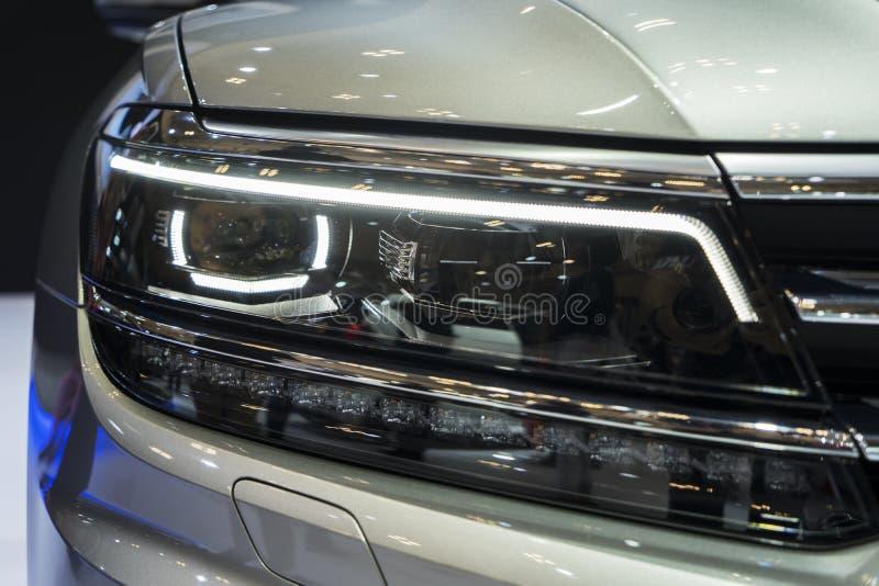 Mooie koplamp van nieuw Audi RS royalty-vrije stock afbeelding