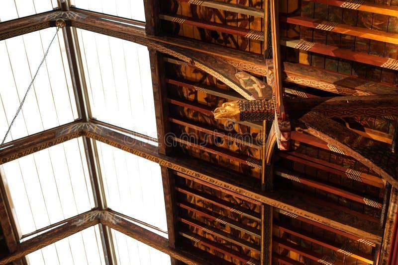 Mooie kunst en architectuur in dakspardetail royalty-vrije stock foto's