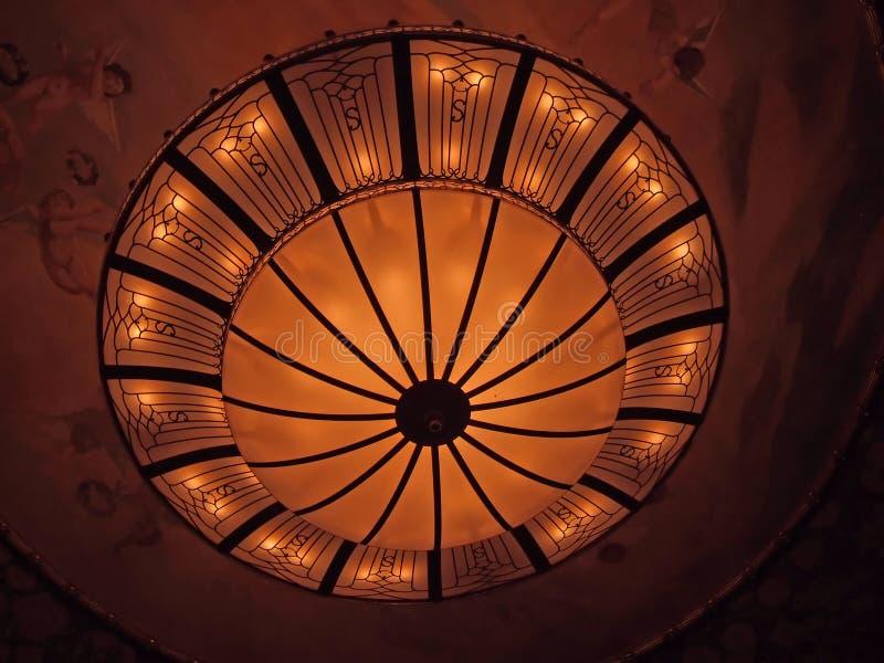 Mooie lamp stock foto