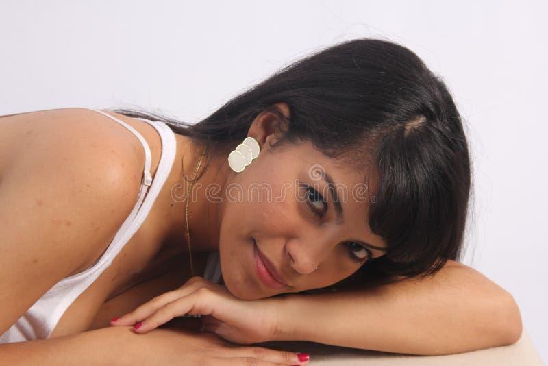 Mooie Latino stock foto