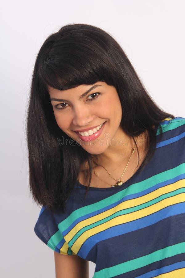Mooie Latino royalty-vrije stock fotografie