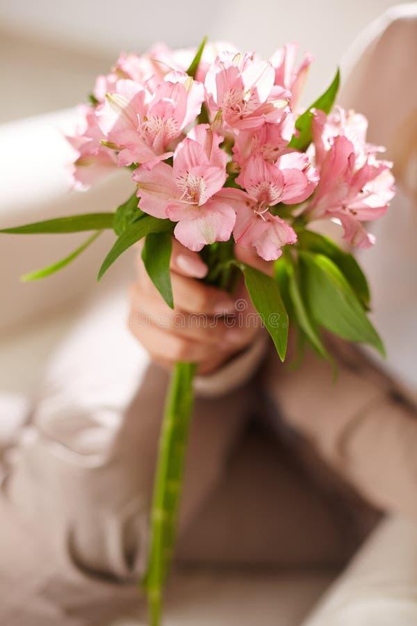 Mooie lelies royalty-vrije stock foto