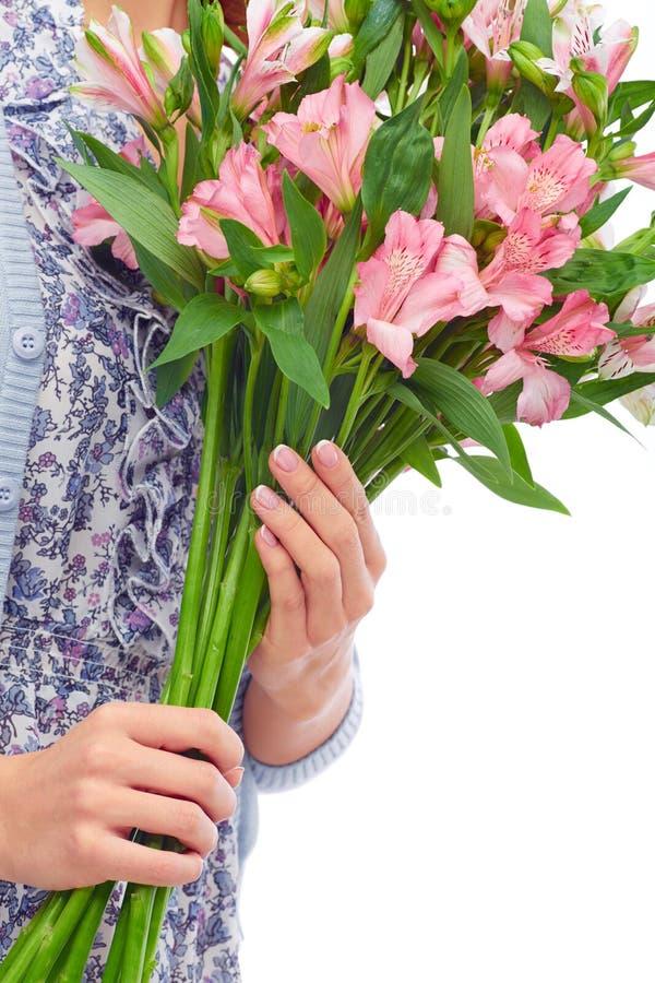 Mooie lelies royalty-vrije stock afbeelding