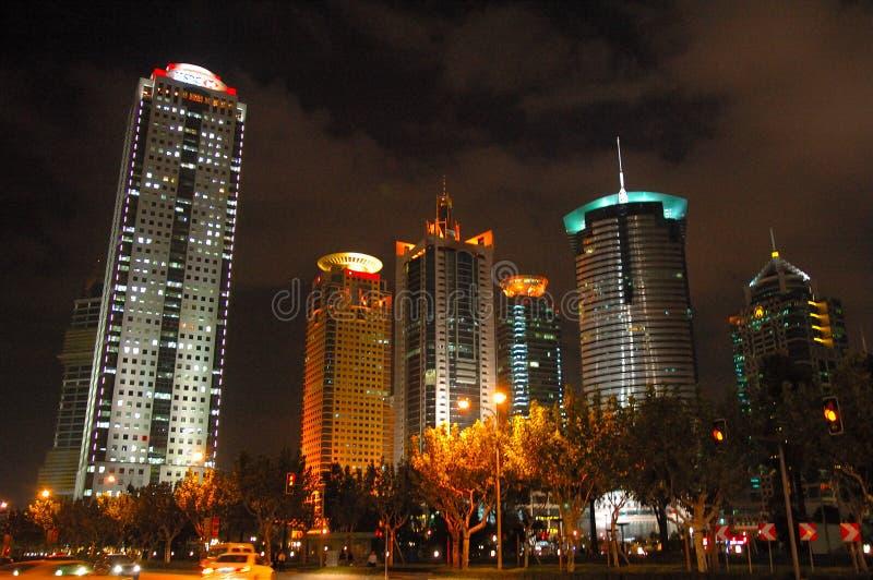 Mooie lujiazuiarchitectuur van Shanghai royalty-vrije stock foto
