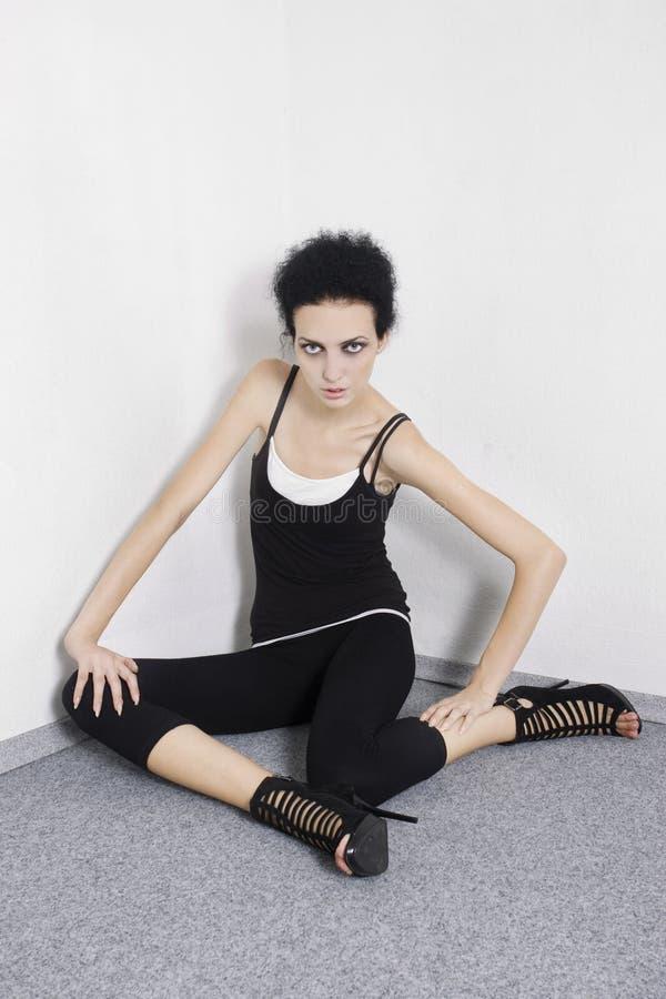 Mooie mannequin royalty-vrije stock foto