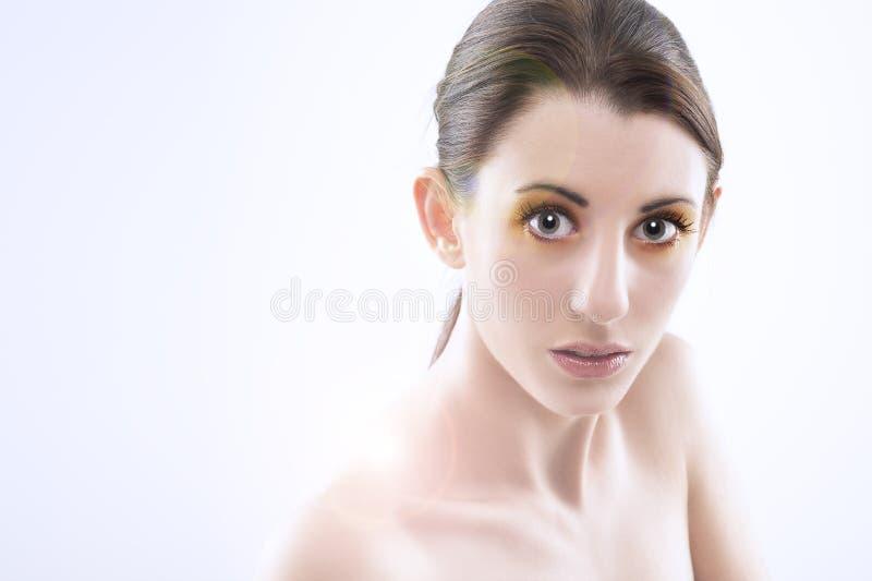 Mooie medelevende vrouw royalty-vrije stock foto