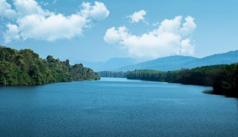 Mooie meermening in Kerala stock afbeelding