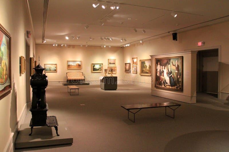 Mooie meesterwerken in kunst en beeldhouwwerken, Instituut van Geschiedenis en Kunst, Albany, New York, 2016 royalty-vrije stock foto