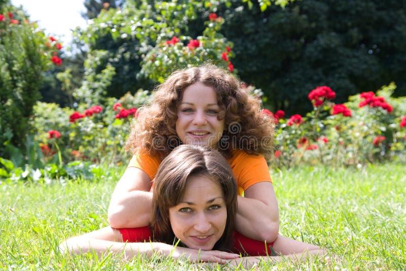 Mooie meisjes stock fotografie