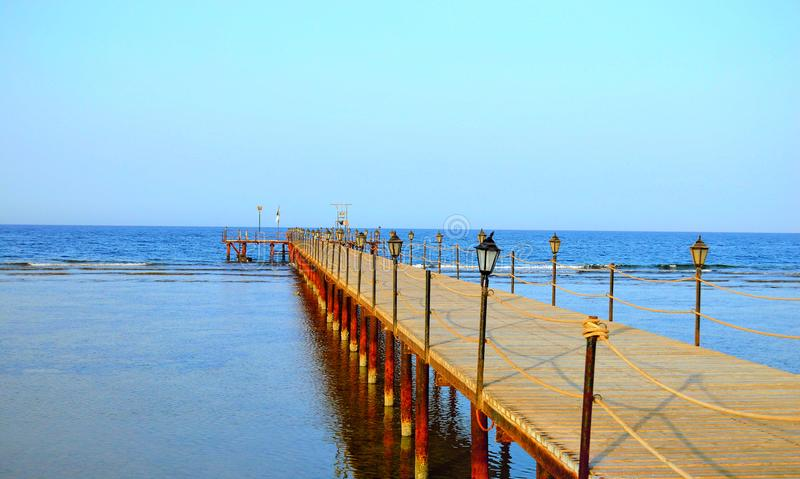 Mooie mening, Rode Overzees - Marsa Alam - Egypte stock foto's