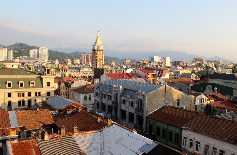 Mooie mening van de stad van Batumi royalty-vrije stock afbeelding