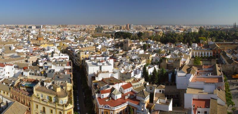 Mooie mening van Sevilla stock fotografie