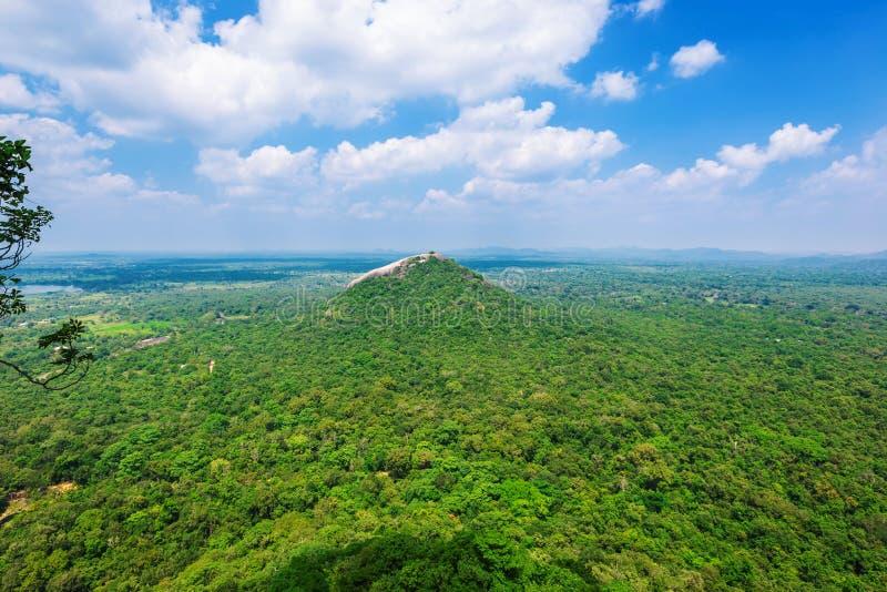 Mooie mening van Sigiriya royalty-vrije stock fotografie