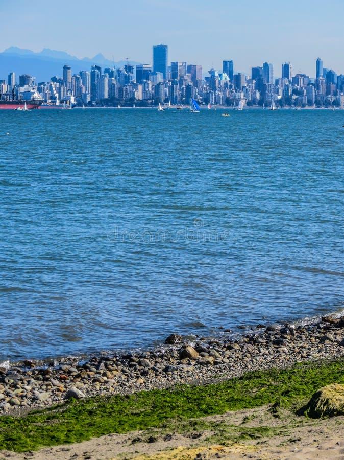 Mooie mening van Vancouver, Brits Colombia, Canada stock fotografie
