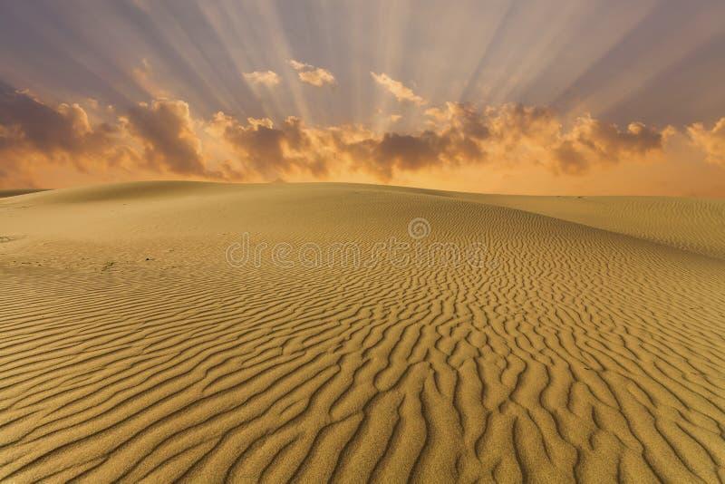Mooie meningen van het woestijnlandschap De Woestijn van Gobi mongolië stock foto's