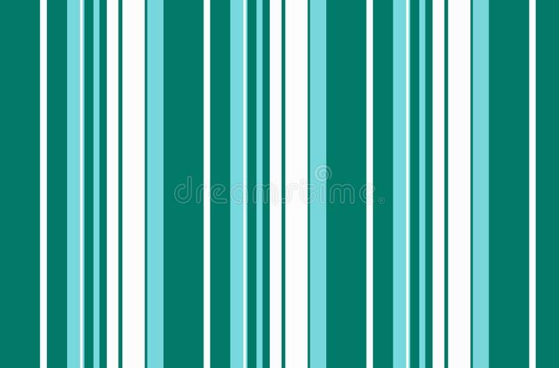 Mooie moderne abstracte gestreepte groene achtergrond royalty-vrije illustratie