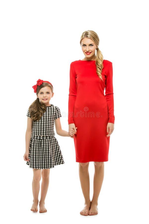 Mooie moeder en dochter royalty-vrije stock afbeelding