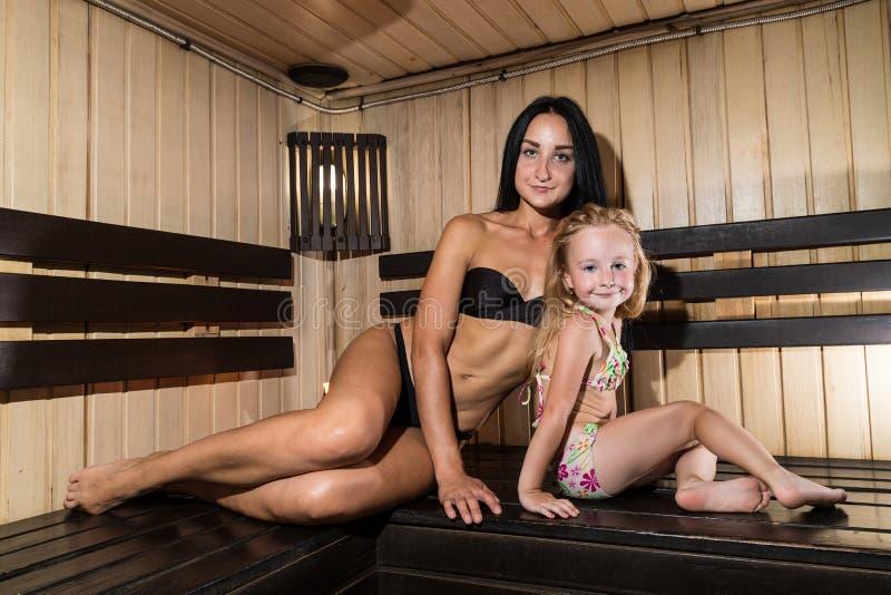 Sauna tochter nackt