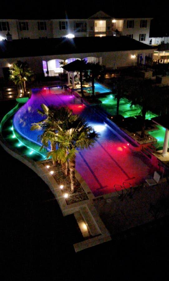 Mooie nacht in paradijs royalty-vrije stock afbeeldingen