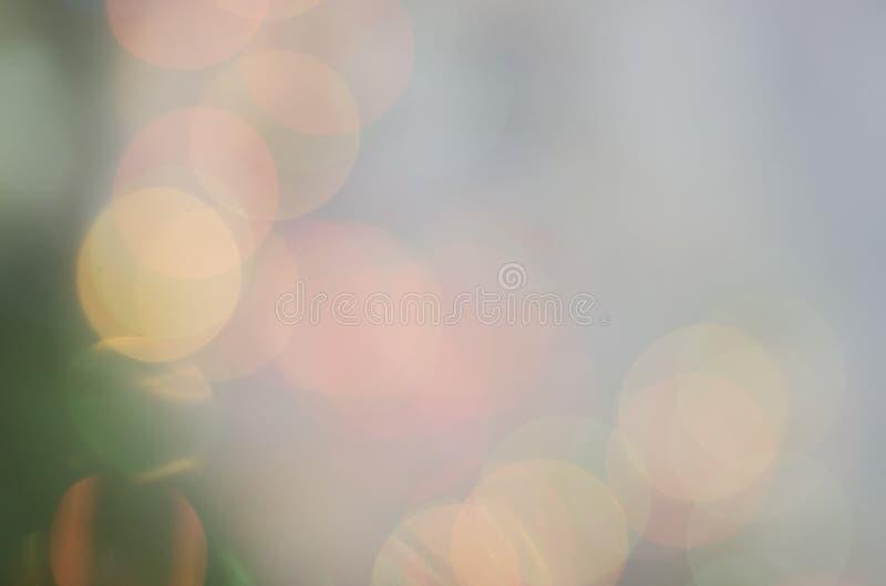 Mooie nieuwe jaar veelkleurige achtergrond Boke stock afbeeldingen