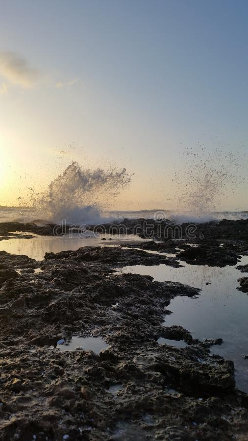Mooie oceaan stock foto's
