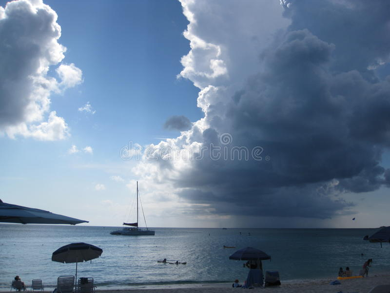 Mooie oceaanmening stock fotografie