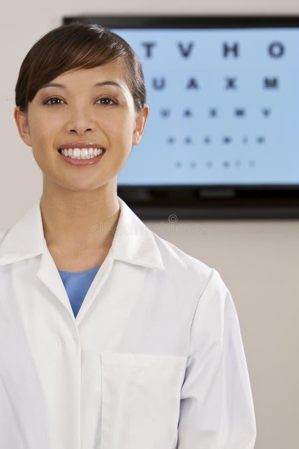 Mooie Opticien stock afbeelding