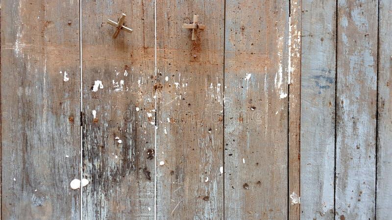 Mooie oude houten muurachtergrond stock foto's
