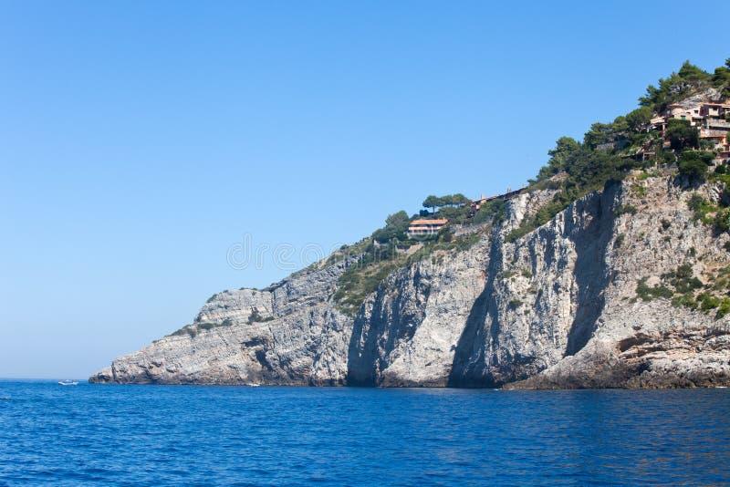 Mooie Overzees bij Giannutri Eiland, Italië royalty-vrije stock foto
