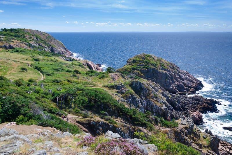 Mooie overzeese kust op Kullen-schiereiland royalty-vrije stock foto's