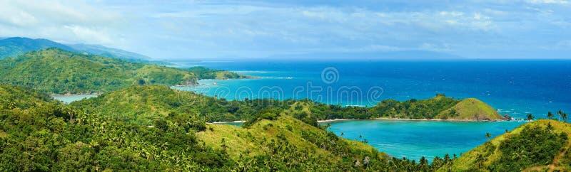 Mooie panorama's van de kust in de mooie rand royalty-vrije stock fotografie